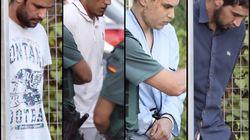 Los detenidos por los atentados de Cataluña declaran hoy en la Audiencia