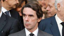 Y Aznar, haciéndose el