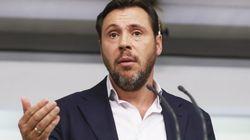Críticas al portavoz del PSOE por lo que dijo dos días antes de la moción de