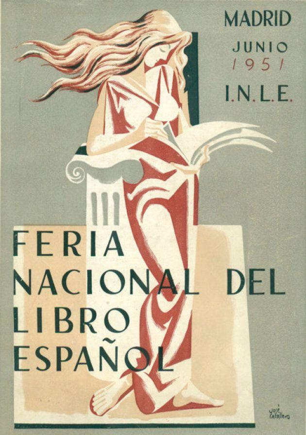 Cartel de José Caballero para la Feria Nacional del Libro de