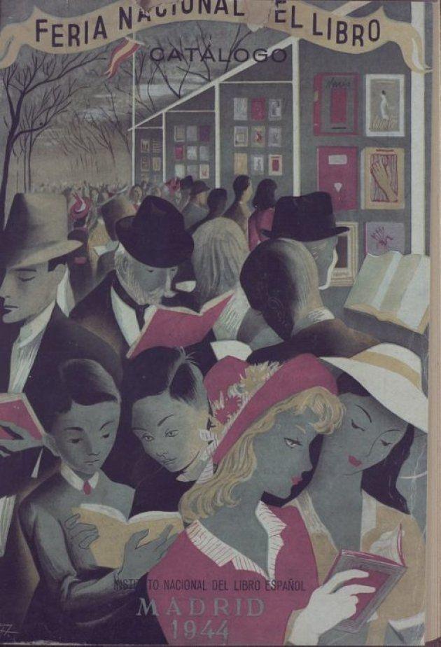 Cartel para la Feria Nacional del Libro de