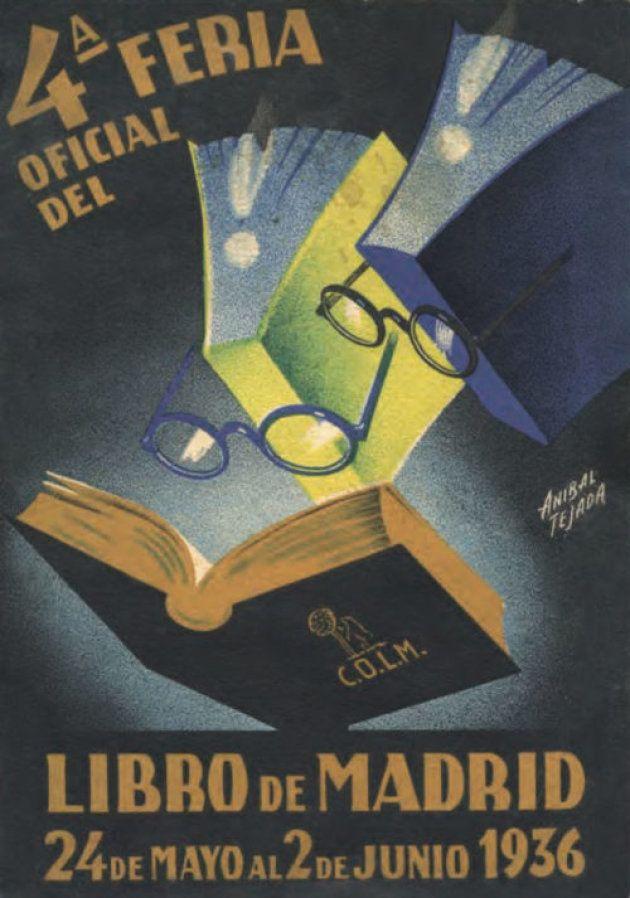Cartel de Aníbal Tejada para la Feria Nacional del Libro de