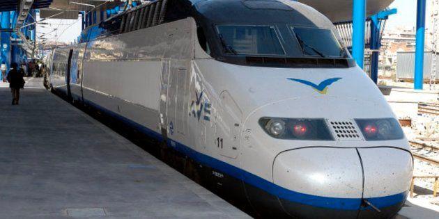 Imagen de archivo de un tren de