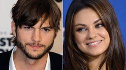 Ashton Kutcher y Mila Kunis enseñan una foto de su