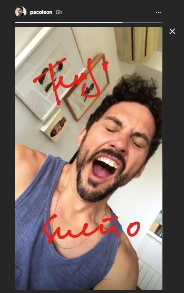 Paco León revoluciona a sus seguidores de Instagram con una foto recién