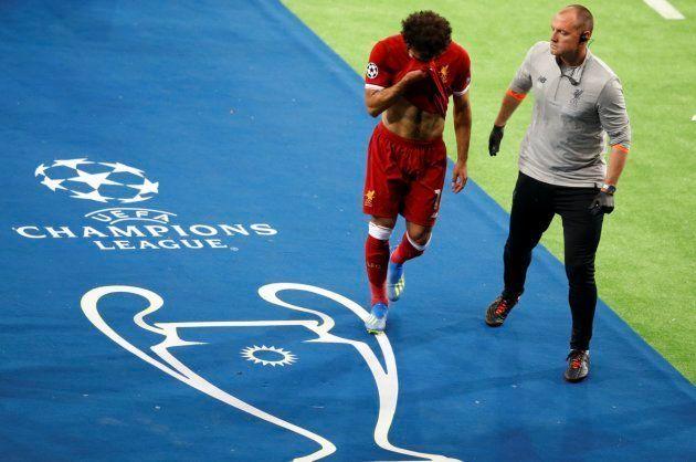 La durísima caída de Salah que ha puesto los pelos de punta a todo el