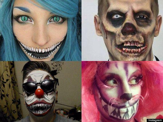 Los maquillajes de Halloween más terroríficos de