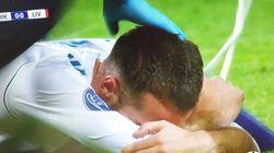 El estremecedor llanto de Carvajal tras romperse en la gran