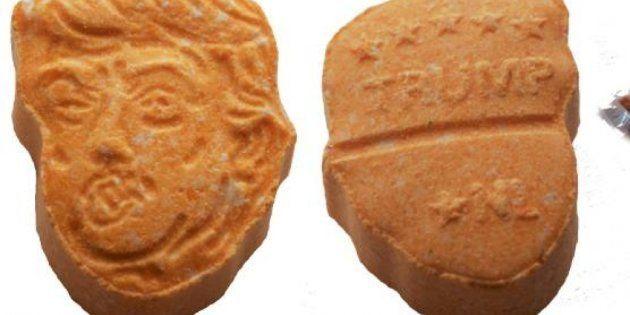 Las pastillas interceptadas por la policía