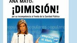Así piden en Twitter la dimisión de Ana Mato