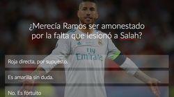VOTA: ¿Debió ser expulsado Sergio Ramos por la jugada en la que se lesionó