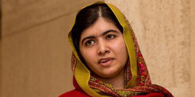 Malala calla a Donald Trump de la forma más elegante