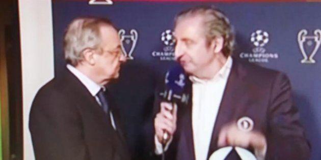 El rifirrafe de Pedrerol con Florentino Pérez tras la 'bomba' de Ronaldo sobre su