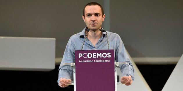 Luis Alegre, candidato a liderar Podemos en la Comunidad de