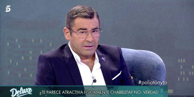 La reprimenda de Jorge Javier Vázquez a un entrevistado de 'Sábado