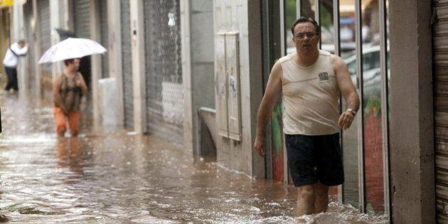 Lluvias torrenciales provocan importantes inundaciones en Tenerife