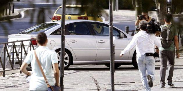 Rodrigo Rato entra a los Juzgados por el garaje para evitar
