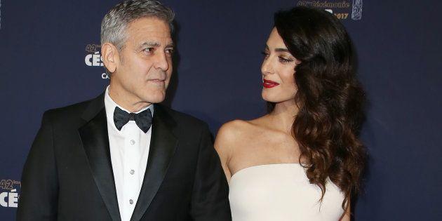 George y Amal Clooney donan un millón de dólares para luchar contra el