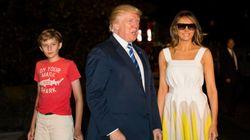 Melania Trump agradece el bonito gesto de Chelsea Clinton con su