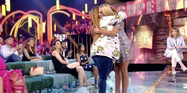 La emotiva reconciliación entre Saray Montoya y Romina Malaspina en