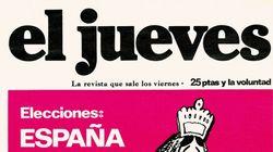 'El Jueves' recupera su primera portada que le viene como anillo al dedo tras el incidente de Evaristo de 'La Polla