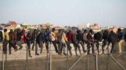 70 inmigrantes subsaharianos consiguen saltar la valla en