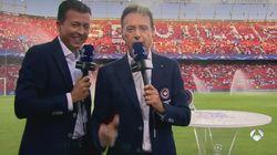 El sobresalto de Matías Prats y Manu Sánchez en pleno directo: