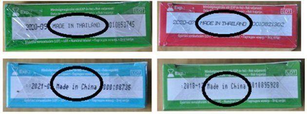 Alerta de la Agencia Española del Medicamento por la falsificación de varios lotes de preservativos