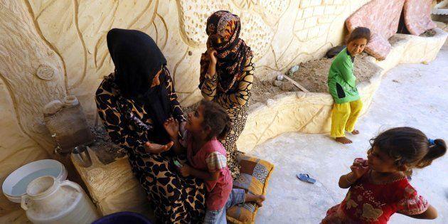 Los civiles de ciudad siria de Al Raqa, atrapados en