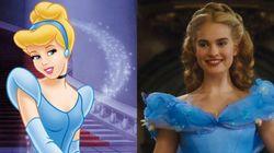 Tráiler de 'Cenicienta': compara la película 'Cinderella' con la de dibujos