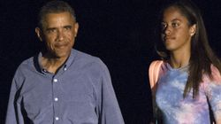 La foto de Malia Obama que nunca debería haber salido en