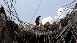 Al menos 54 personas mueren en bombardeos de la alianza árabe en la capital