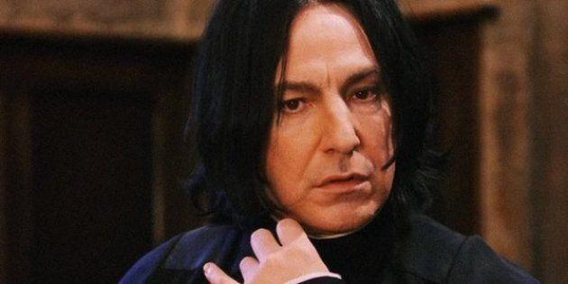 Alan Rickman estaba frustrado y desilusionado con su papel de Snape en 'Harry