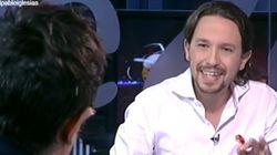 Las pullas entre Pablo Iglesias y el presentador de TVE