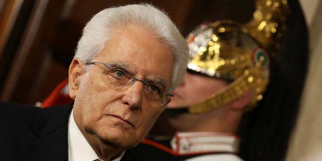 El presidente italiano, Sergio