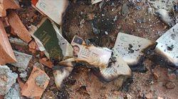 La célula de Ripoll quemó documentación en una masía abandonada de