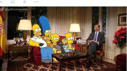 El sofá junto a Felipe VI, carne de montajes en Twitter