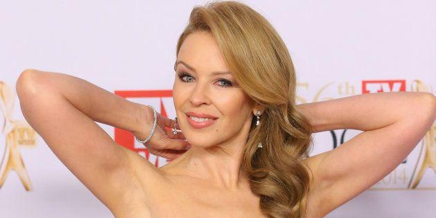El desnudo de Kylie Minogue para celebrar su 50