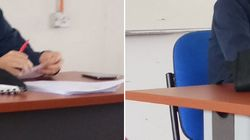 Este profesor triunfa con su genial ideal para que sus alumnos no se pongan nerviosos en los