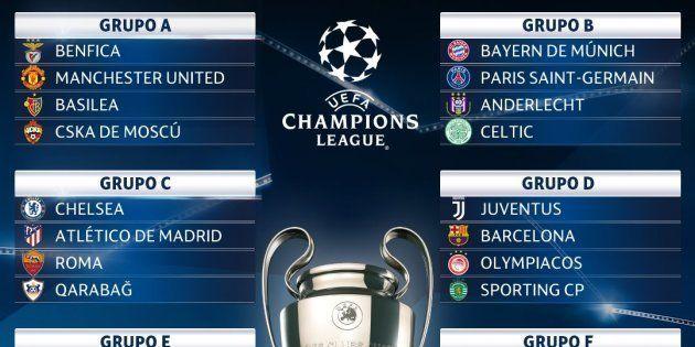 Estos son los rivales de los equipos españoles en la