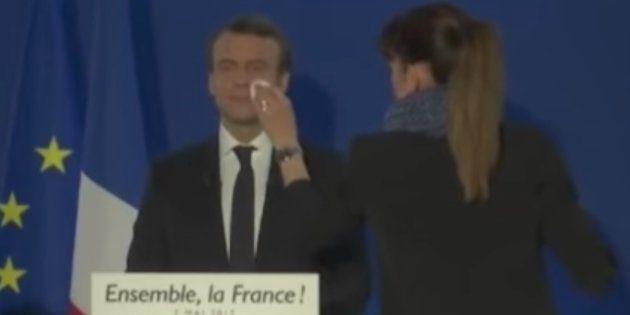 Macron se gastó 26.000 euros en maquillaje en tres