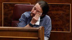 Pablo Iglesias rompe a llorar en el