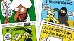 Las satíricas portadas de 'Charlie Hebdo'
