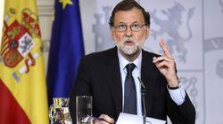 Rajoy presume de la gestión del Gobierno tras los atentados de