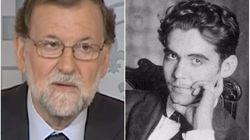 Rajoy recita a Lorca para homenajear a las