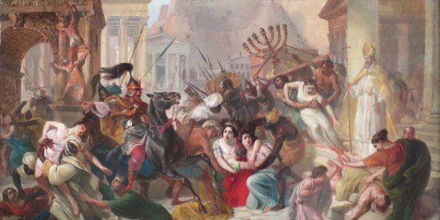 Saqueo de Roma por los vándalos, de Karl