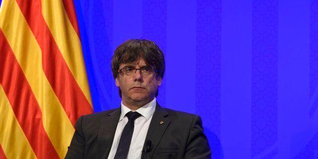 Puigdemont acusa a Rajoy de