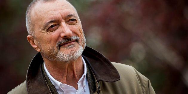 Arturo Pérez-Reverte, retratado el pasado abril en Madrid durante la presentación de su última novela,...