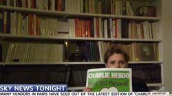 ¿Que los medios británicos no muestran la portada de Charlie Hebdo?