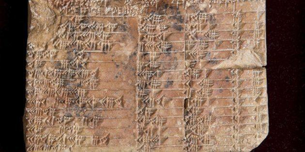 Esta tablilla de 3.700 años es el problema matemático más antiguo del